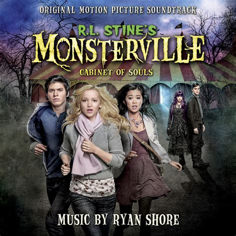 monsterville the cabinet of souls r l stine s monsterville cabinet of souls soundtrack