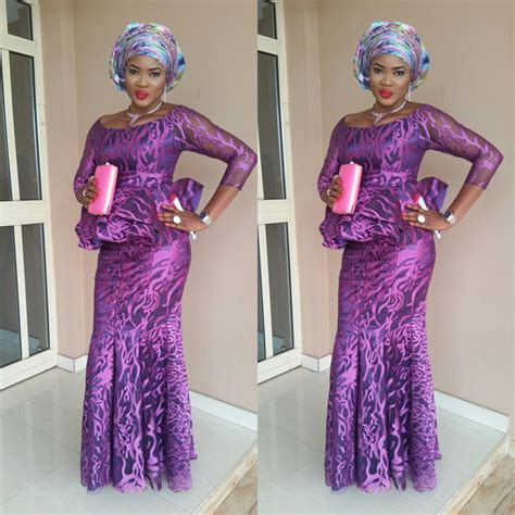cord lace nigerian styles fashions top ten unique and stylish aso ebi cord lace styles