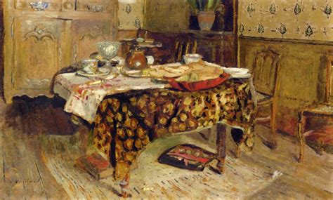 The Table Setting, 1903   Edouard Vuillard   WikiArt.org