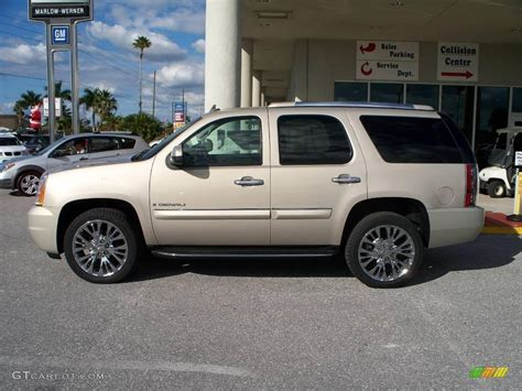 2008 gold mist metallic gmc yukon denali awd 1174800 gtcarlot car color galleries