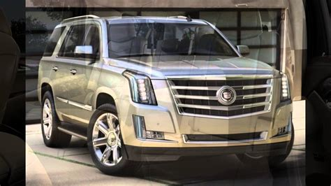 2016 Cadillac Escalade Silver Coast Metallic Youtube