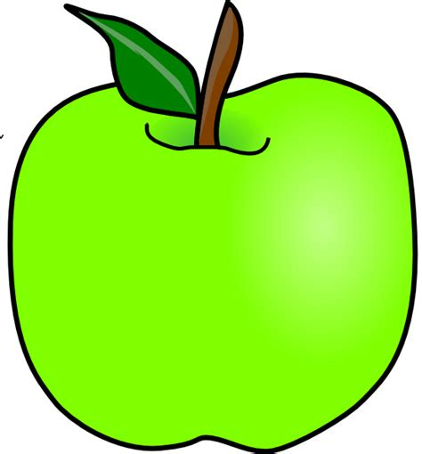 Green Apple Outline by Green Apple Outline Www Pixshark Images Galleries With A Bite