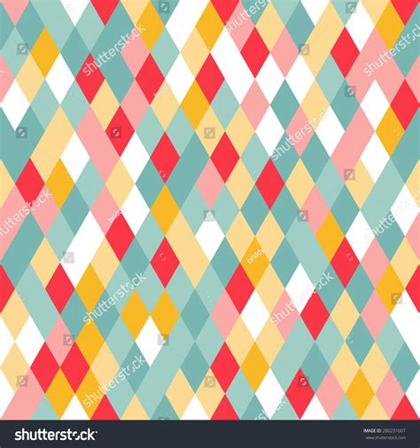 geometric pattern random vibrant colorful random colored geometric seamless stock