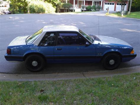 ssp mustang 1988 ford mustang coupe ssp gsp trooper foxbody