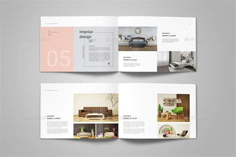 Graphic Design Portfolio Template By Adekfotografia Graphicriver Interior Design Portfolio Template