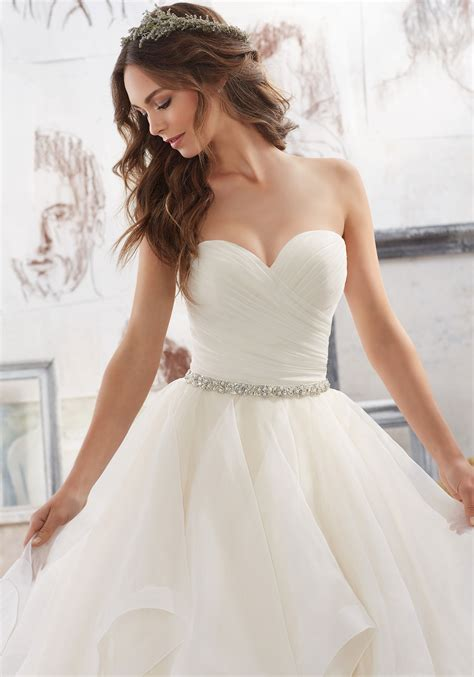 Wedding Style Dress by Marissa Wedding Dress Style 5504 Morilee