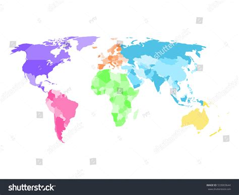blank world political map blank simplified political map world different stock