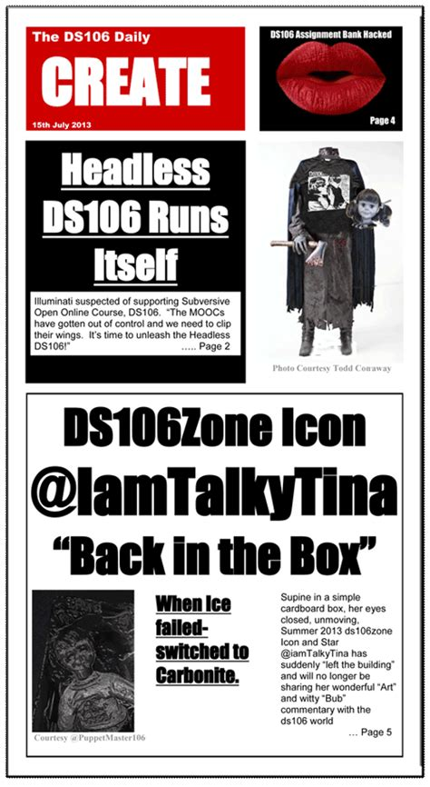 tabloid template ds106 the tabloid press rockylou s ds106