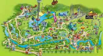 plan de nigloland plan des attractions et restaurants du