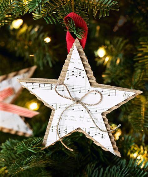 homemade christmas star ornament diy christmas ornaments