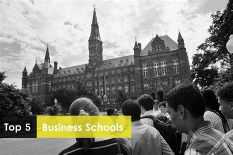 Mba Schools In Usa by Top 5 Business Schools In Usa Study In Usa Study Abroad