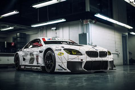 stancenation bmw m6 unveiled by stanceworks bmw team rll s 2016 m6 gtlm race