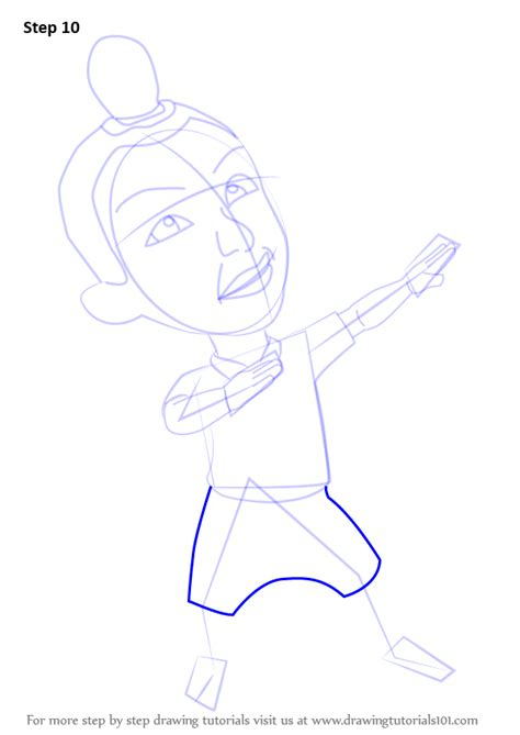 tutorial upin ipin flanel step by step how to draw jarjit from upin ipin