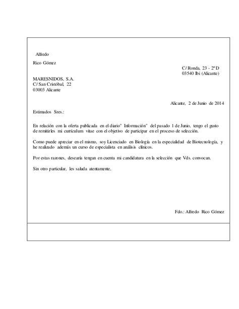 una carta para lily c 243 mo redactar una carta de presentaci 243 n