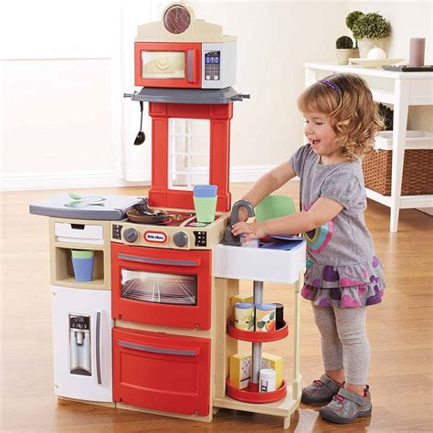 Lovely Little Tikes Inside Outside Kitchen For Your Kid ... Little Tikes Kitchen Playset
