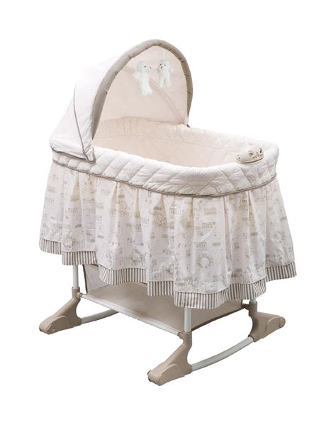 Baby Cribs Bassinets Delta Children Play Time Jungle Rocking Bassinet Baby Baby Furniture Bassinets Cradles