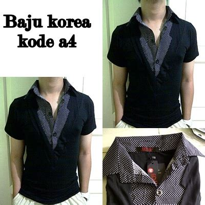 919169 Baju Fashion 3 In 1 Korea Import China Olahraga Milss Out Gaul jual baju korea pria murah import quality