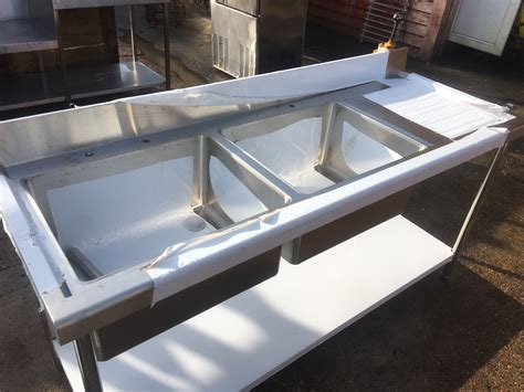 used commercial stainless steel sinks stainless steel commercial with double bowls used