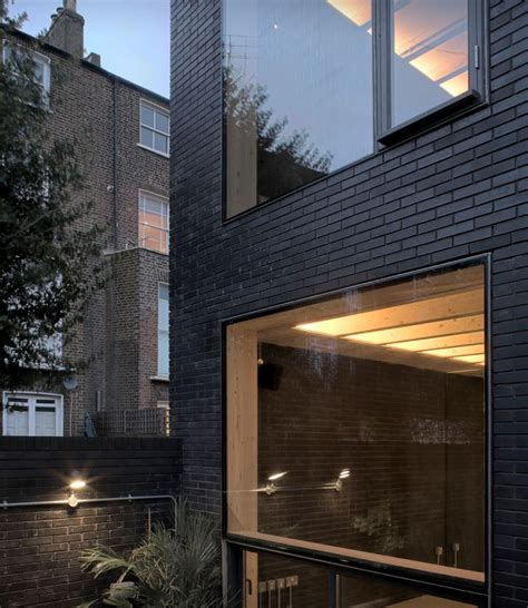 black brick house in london townhouse research pinterest