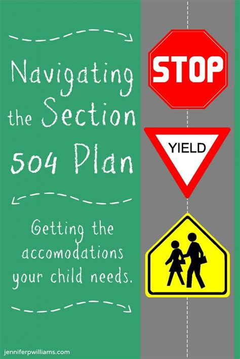 Section 504 Accommodations by Navigating The Section 504 Plan Children With Learning