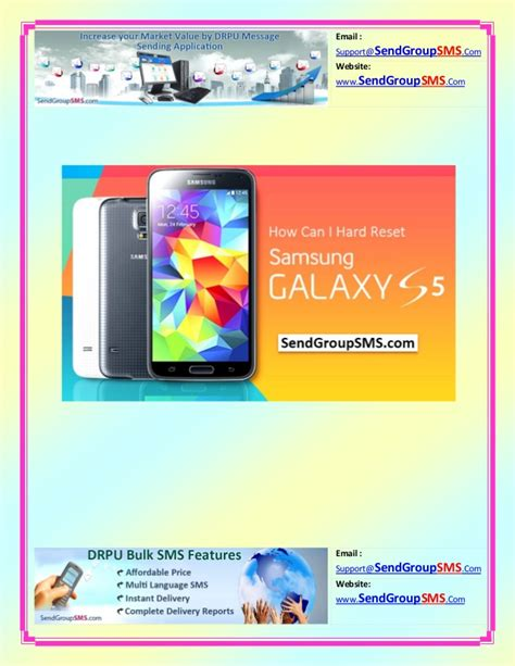 reset android galaxy s5 learn how to factory reset samsung galaxy s5 model sm g900