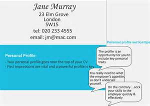 cv writing tips things to include in your profile succeed