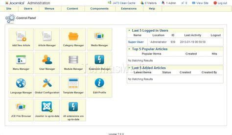 merubah template area administrator backend joomla