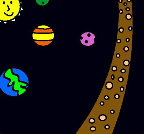 imagenes de universo para colorear dibujos del universo imagui