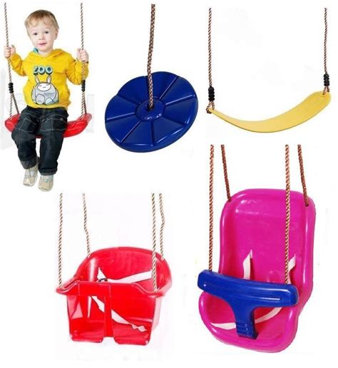 Childrens Swing Seats by Childrens Garden Plastic Swing Seats Selection For