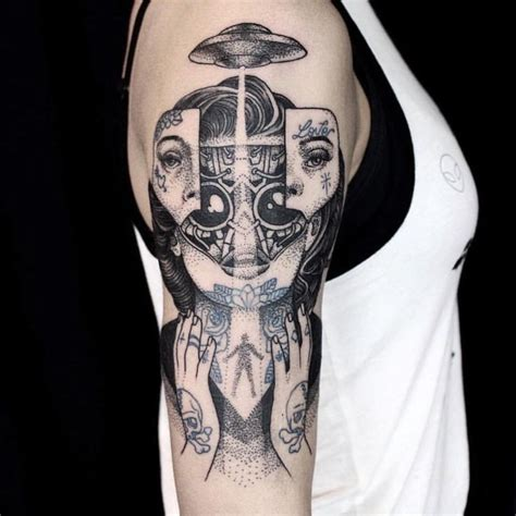 cyborg tattoos 1000 ideas about on ufo