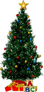 christmas tree animated images gifs pictures animations