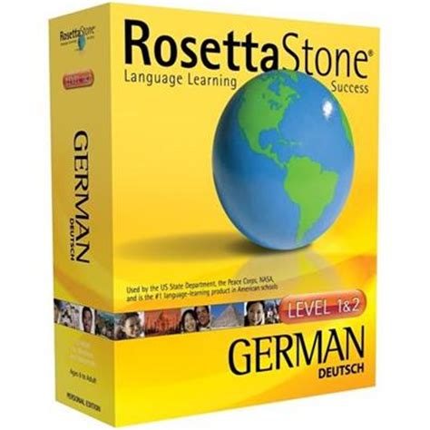Rosetta Stone German Review | learning the german language with rosetta stone review