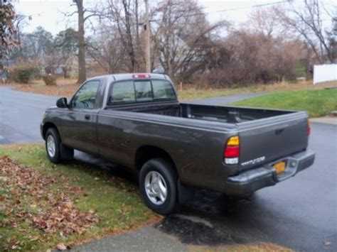 2003 toyota tundra bed size purchase used 2003 toyota tundra base standard cab