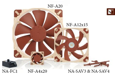 Noctua Adds A Bunch Of A Series Fans And Accessories