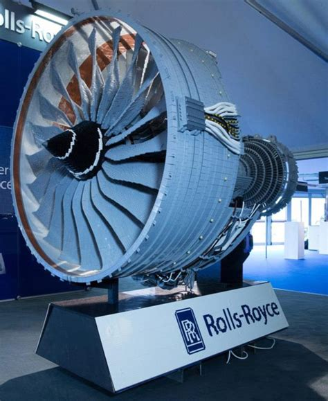 rolls royce jet engine rolls royce unveils its jet engine made out of lego
