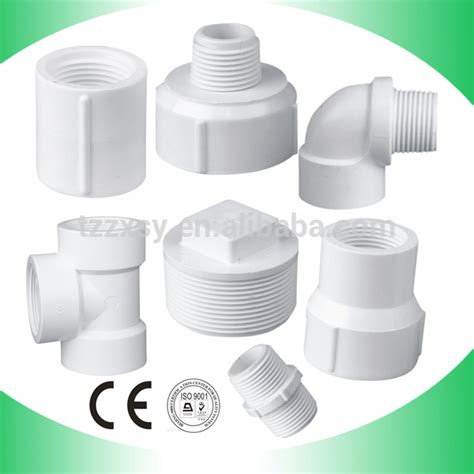 Pvc Plumbing Fittings by Pvc Thread Pipe Fittings Adapter Union Etc