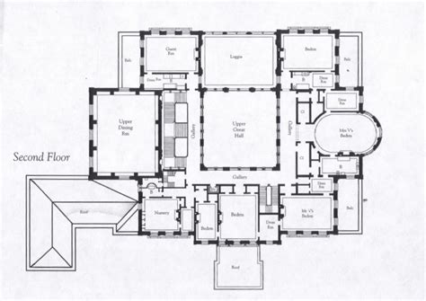 breakers mansion floor plan breakers second floor plan mansions pinterest