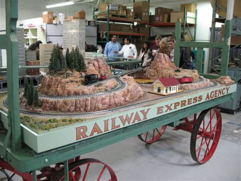 my little world of dementia baggage train for fantasy battle caign trainworx rea baggage cart layout model train layouts