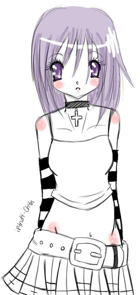 punk anime by ip4nd4 ch4n on deviantart