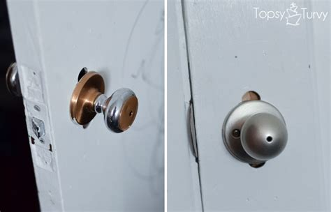 how to change out your door knobs ashlee