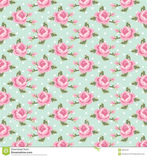 Vintage Garden Baby Shower by Vintage Pattern 1 Royalty Free Stock Photography Image