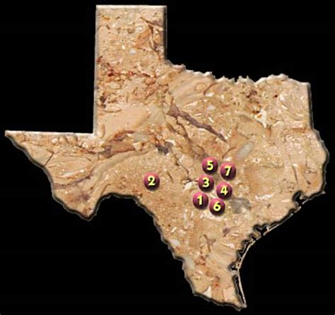 texas caverns map u s show caves directory texas