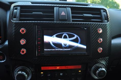 how to upgrade to 550 gen d after market head unit for 5th gen limited toyota