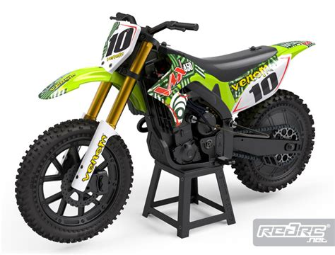 Rc Cross Motorrad Venom 450 by Red Rc Rc Car News 187 Venom Vmx450 1 4th Scale Dirt Bike
