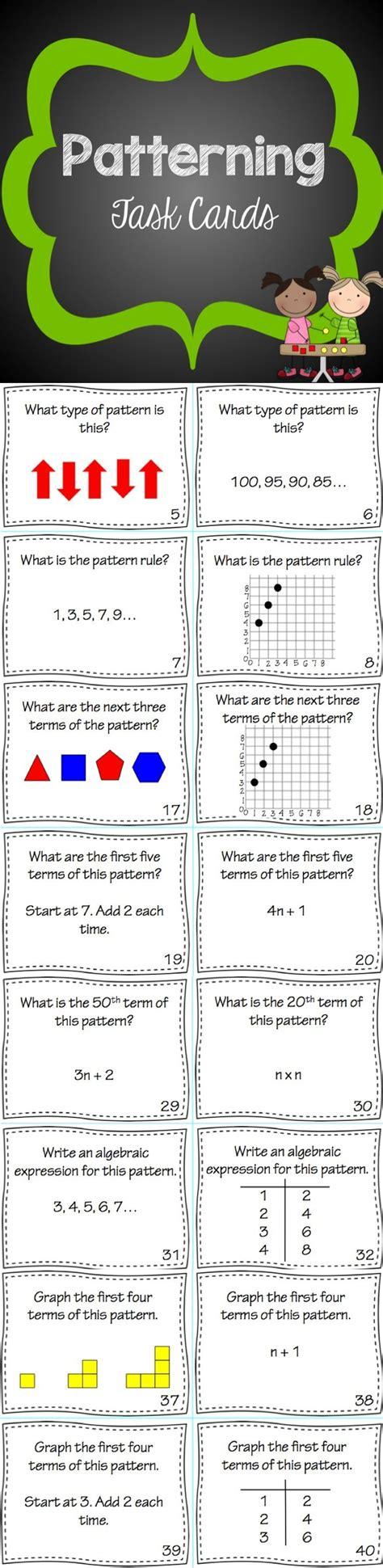 pattern algebraic expression finder best 25 algebraic expressions ideas on pinterest