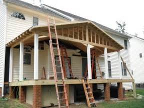Framing A Hip Roof Porch framing a porch roof home design ideas