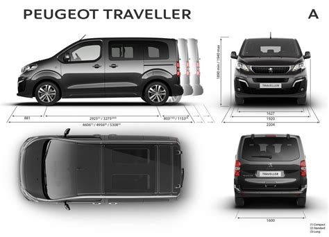 peugeot traveller dimensions peugeot traveller model 8 seats vehicle specifications