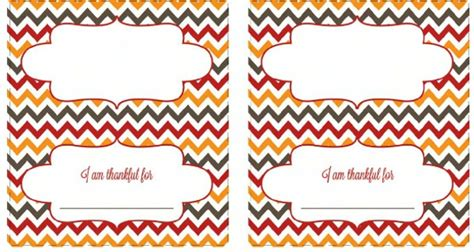 turkey thankful card template free diy placecards landeelu