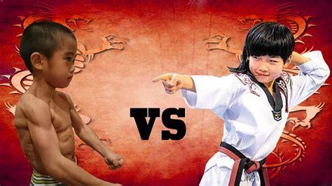 Kungfu Boy ryusei imai vs qiunan kung fu boys