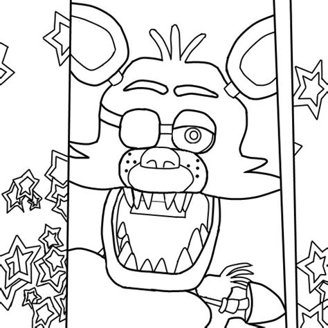Fnaf 1 Coloring Pages by Made Some Coloring Pages Because I Didn T See Any